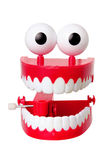 Chattering Teeth Toy Stock Image