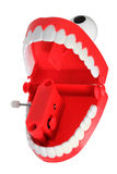 Chattering Teeth Toy Royalty Free Stock Images