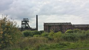 The Chatterley Whitfield Coliery Royalty Free Stock Photography