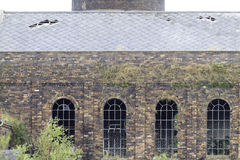 Chatterley Whitfield Colliery, ahora cerrado y necesitando la restauración Fotos de archivo libres de regalías