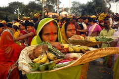 chattfestival india Arkivfoton