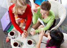 Chatting girls Stock Photo