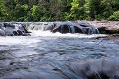 Chattooga lös och scenisk flod Royaltyfri Fotografi