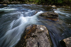 Chattooga River Flow Royalty Free Stock Images