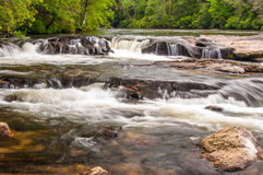 Chattooga River Rapids at Dick's Creek Royalty Free Stock Image