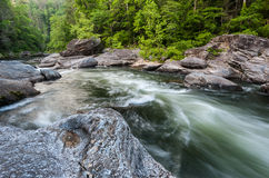 Chattooga Wild & Scenic Commercial Whitewater River Stock Images