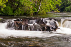 Chattooga Wild and Scenic River Stock Image