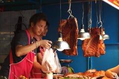 Chatuchak周末市场 库存照片