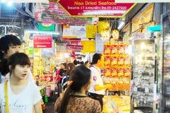 Chatuchak市场 曼谷,泰国 库存照片