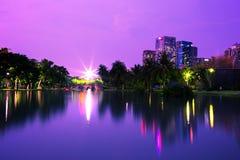 Chatuchak Bangkok at night Royalty Free Stock Photos