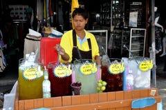 Chatuchak Market Ice Tea Vendor Royalty Free Stock Photos