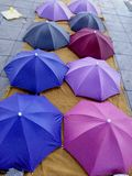 Chatuchak market multicolored umbrella Royalty Free Stock Photography