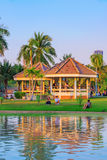 Chatuchak park lakeside stock photos