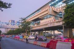 Chatuchak Station Bangkok Mass Transit System Stock Images