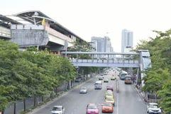 Chatuchak Station Bangkok Mass Transit System Royalty Free Stock Photo