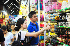 Chatuchak weekend market Stock Photo
