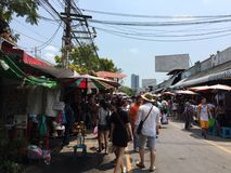 Chatuchak weekend market Royalty Free Stock Images