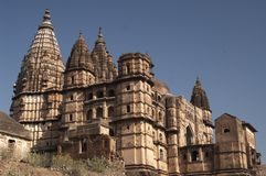 Chaturbhuj Tempel Lizenzfreies Stockfoto