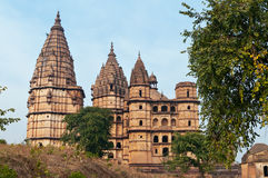 Chaturbhuj Temple in Orchha. Stock Photography