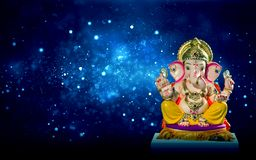 Chaturthi φεστιβάλ ειδώλων Λόρδου Ganesha ganesh στοκ εικόνες
