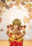 Chaturthi del festival del ganesh del ídolo de Lord Ganesha imagen de archivo libre de regalías