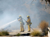 Chatworth Brush Fire Stock Photo
