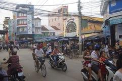 Chau doc. fotografía de archivo libre de regalías