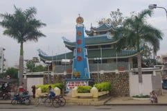 Chau doc. fotografía de archivo