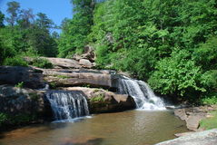 Chau Ram Falls SC Royalty Free Stock Photo