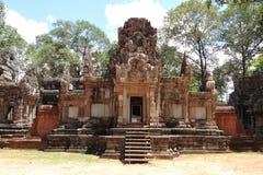 Chau Say Tevoda in Angkor Stock Image