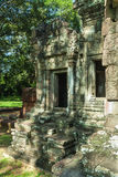Chau say tevoda. Detail of the library of the temple of chau say tevoda in siam reap, cambodia Stock Image