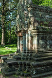 Chau say tevoda. Detail of the library of the temple of chau say tevoda in siam reap, cambodia Royalty Free Stock Image