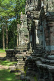 Chau say tevoda. Detail of the prasat of the temple of chau say tevoda in siam reap, cambodia Stock Photography