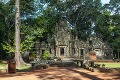 Chau say tevoda. General sight of the temple of chau say tevoda in siam reap, cambodia Royalty Free Stock Image