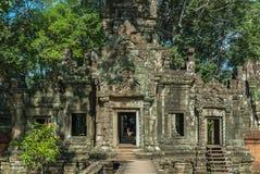 Chau say tevoda. Gopura of the chau say tevoda temple in siam reap, cambodia Royalty Free Stock Photo