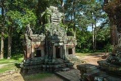Chau say tevoda. Gopura of the temple chau say tevoda in siam reap, cambodia Stock Photo