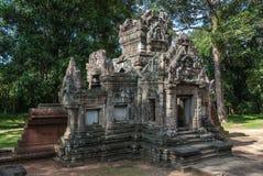 Chau say tevoda. Library of the temple of  chau say tevoda in siam reap, cambodia Stock Photo