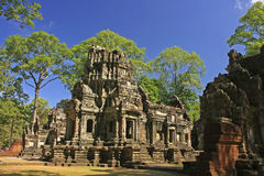 Chau Say Tevoda temple, Angkor area, Siem Reap, Cambodia Royalty Free Stock Photos