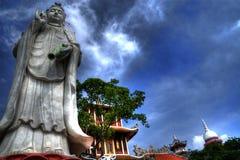 Chau thoi Tempel Stockbild