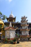 Chau Thoi tempel i det Binh Duong landskapet, Vietnam royaltyfri fotografi