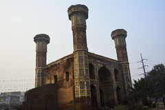 Chauburji. Is a Mughal era monument in the city of Lahore, capital of the Pakistani province of Punjab. The monument previously acted as a gateway to a large Royalty Free Stock Photo
