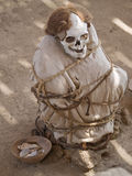 Chauchilla ancient cemetery Stock Photo