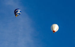 Chaud, air, ballons Photo stock