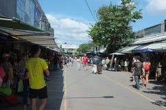 Chaud et agité au marché de Chatuchak NON 10 photo stock