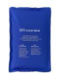 Chaud et emballé à froid Photos stock