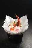 Chaud-pot de fruits de mer Image libre de droits