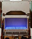 Chaudière de gaz Photo stock