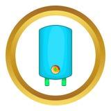 Chaudière, icône de chauffe-eau illustration de vecteur