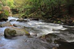 Chaudron de Bodekessel présagé par rivière Images stock