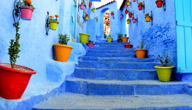 Chauen o Chefchaouen, Morocco Royalty Free Stock Images